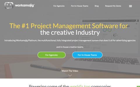 Workamajig | Project Management Software for Marketing Teams