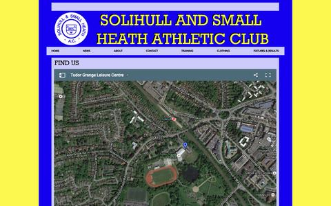 Screenshot of Maps & Directions Page solihullac.co.uk - MAP - solihullac - captured June 16, 2016