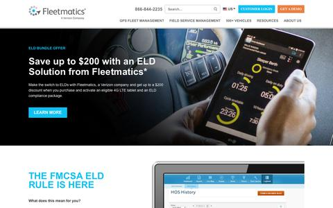 The Electronic Logging Device (ELD) Mandate and ELD FAQs