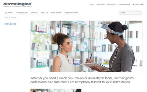 Dermalogica Services, Treatments, Facials