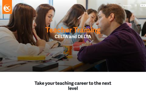 CELTA and DELTA Courses - EC English Language Centres