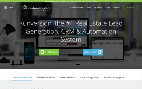 Inside Real Estate | Lead Generation + Websites + CRM + Reporting + Powerful Performance