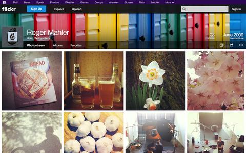 Screenshot of Flickr Page flickr.com - Flickr: Union Photographers' Photostream - captured Oct. 27, 2014