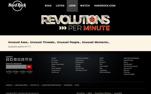 Look – Hard Rock presents Revolutions Per Minute