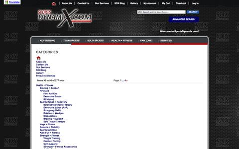 Screenshot of Site Map Page sportsdynamix.com - SportDynamix.com | Your Online Sports & Outdoor Store! - captured Oct. 9, 2014