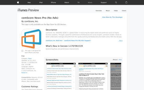 comScore News Pro (No Ads) on the App Store