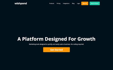 Wishpond | A Platform Designed For Growth