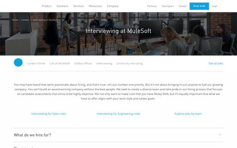 Interview   Mulesoft