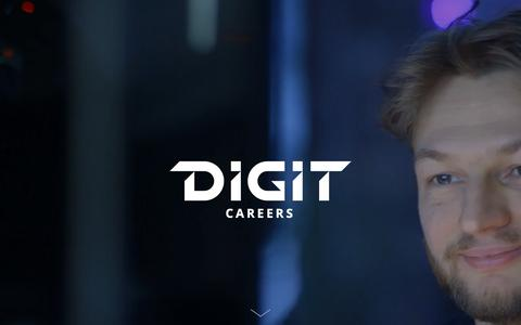Screenshot of Jobs Page digitgaming.com - Careers | DIGIT Game Studios - captured Nov. 14, 2018