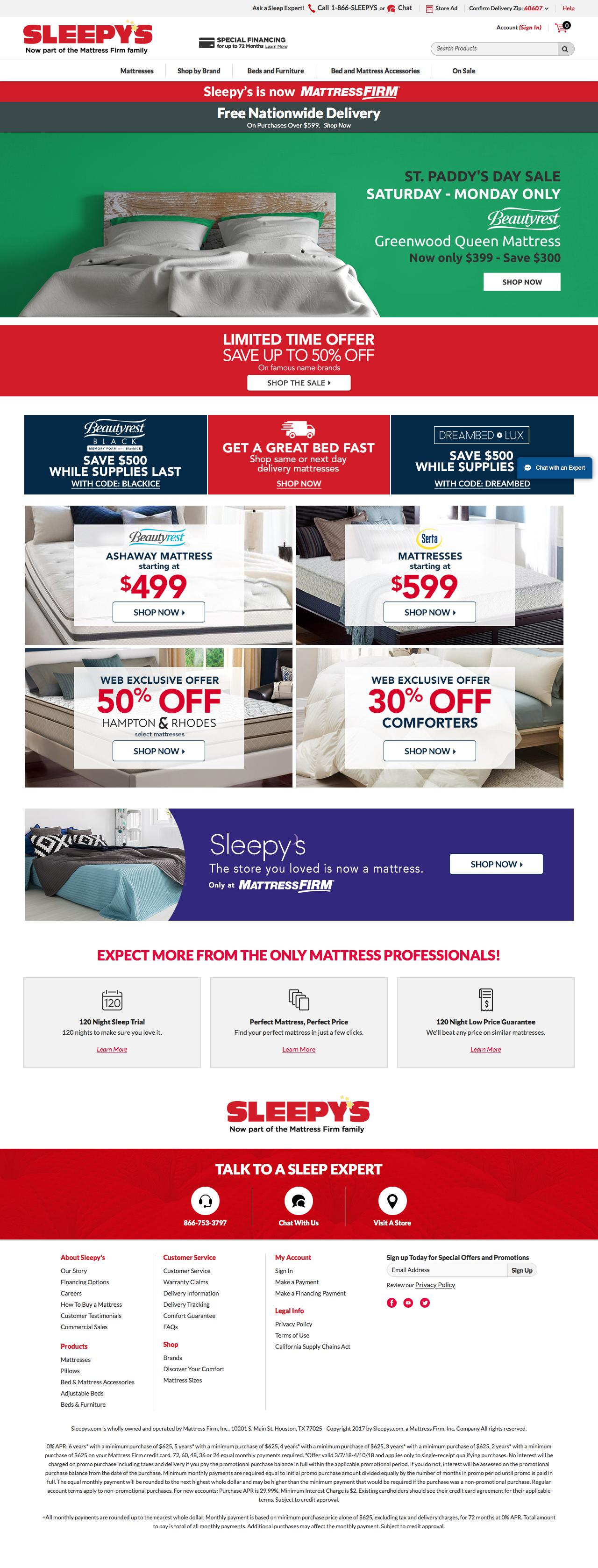 Sleepy's | Competitive Intelligence and Insights | Crayon