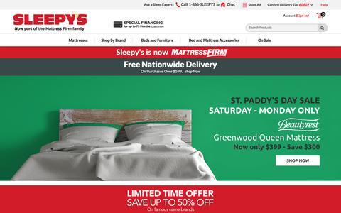Sleepy's: The Mattress Professionals - Now Mattress Firm