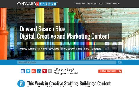 Career Advice for Digital Marketing and Creative Talent - Onward Search