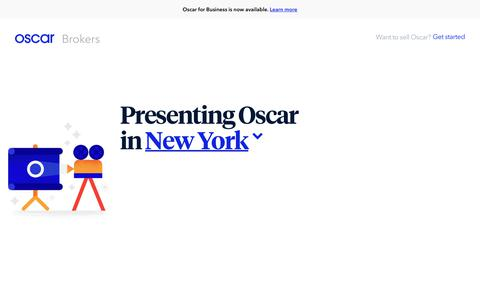 Oscar | Health insurance broker resources