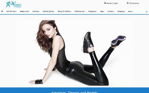 Actresses - Women Fitness