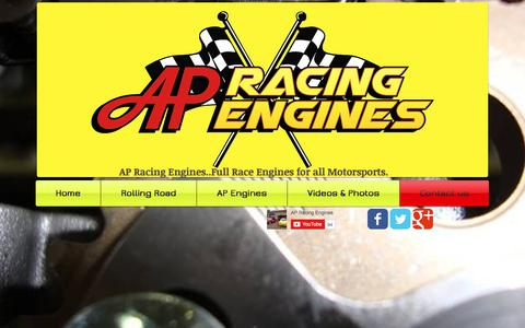 Screenshot of Contact Page apracingengines.co.uk - AP Racing Engines Ltd.Race Engines and Rolling Road, C20XE and more.. |  Contact us - captured Nov. 19, 2016
