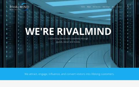 Screenshot of About Page rivalmind.com - About RivalMind | A Chicago SEO and Web Design Agency - captured July 2, 2016