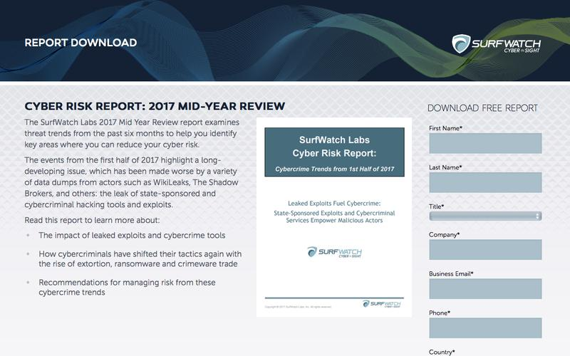 Cyber Risk Report: 2017 Year in Review