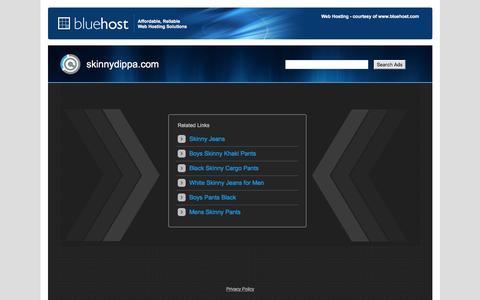 Screenshot of Home Page skinnydippa.com - Web hosting provider - Bluehost.com - domain hosting - PHP Hosting - cheap web hosting - Frontpage Hosting E-Commerce Web Hosting Bluehost - captured June 24, 2016