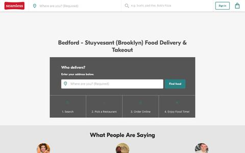 Bedford - Stuyvesant Delivery & Takeout Menus | Seamless