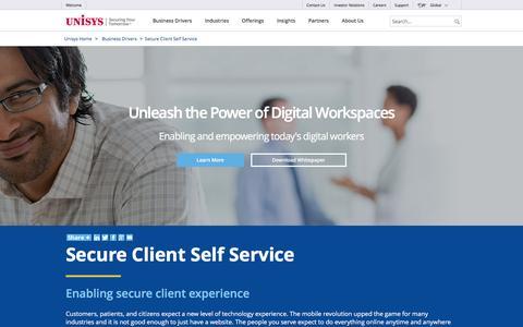 Secure Client Self Service