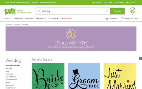 Wedding Gifts & Merchandise   Wedding Gift Ideas   Unique - CafePress