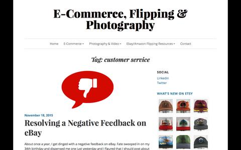 Screenshot of Support Page justinhawthorne.com - customer service – E-Commerce, Flipping & Photography - captured Feb. 12, 2016