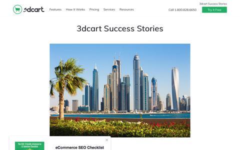 3dcart Success Stories