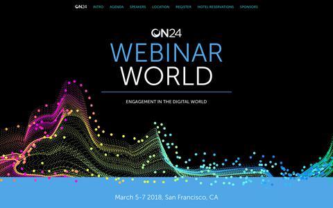 Webinar World | ON24