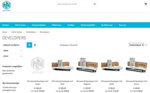 Screenshot of Developers Page nnpartners.nl - Developers kopen? N&N Partners - Koop meer en betaal minder! - captured Nov. 6, 2018
