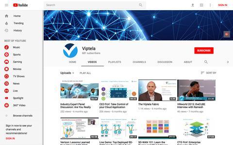 Viptela - YouTube - YouTube