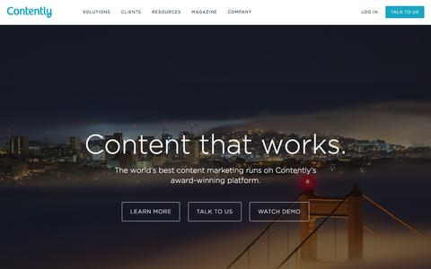 Contently - Content Marketing