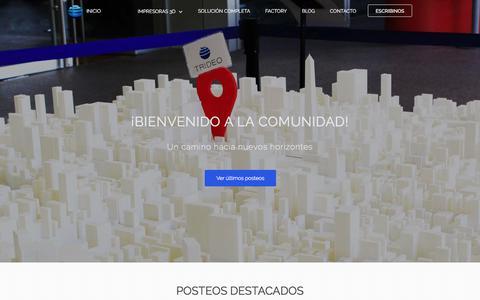 Screenshot of Blog trideo3d.com - Blog - captured Nov. 9, 2017