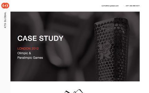 Screenshot of Case Studies Page kts-global.com - Smart Partner RLB - Case Study - captured June 9, 2017