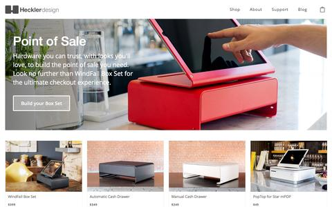 Secure Point of Sale - POS Hardware Products | Heckler Design