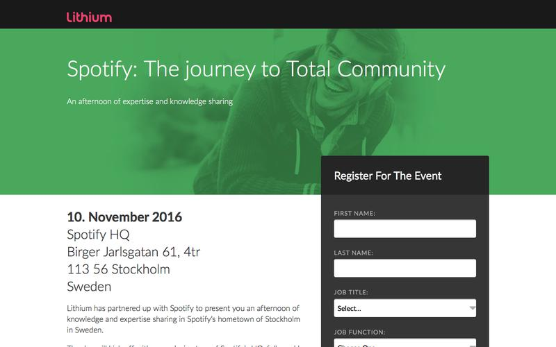 Spotify: The journey to Total Community