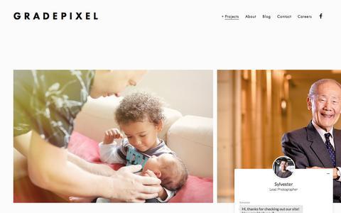 Screenshot of Team Page gradepixel.com - People — GradePixel - captured Dec. 13, 2015