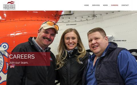 Screenshot of Jobs Page fairweather.com - Fairweather | Careers - captured Jan. 10, 2018