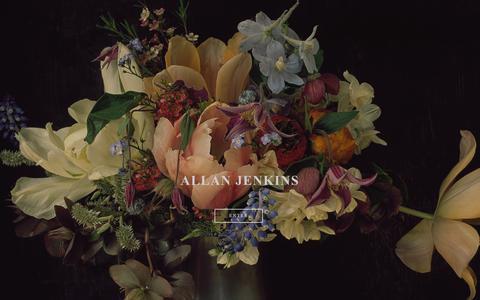 Screenshot of Home Page allanjenkins.com - Allan Jenkins Photography - captured Oct. 2, 2018