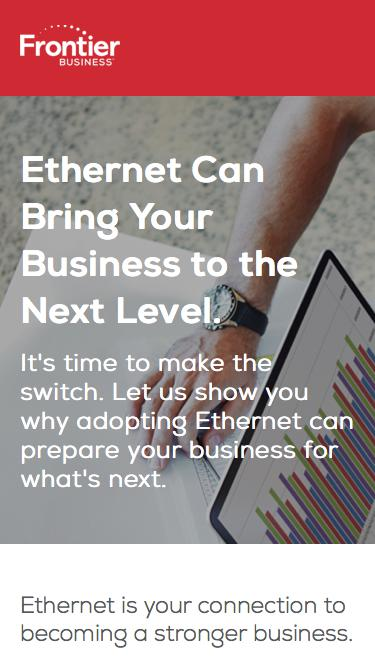 Rediscover what Ethernet can do.