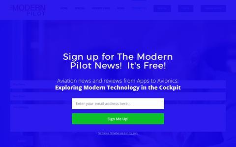Screenshot of Contact Page themodernpilot.com - Contact Us – The Modern Pilot - captured June 15, 2017