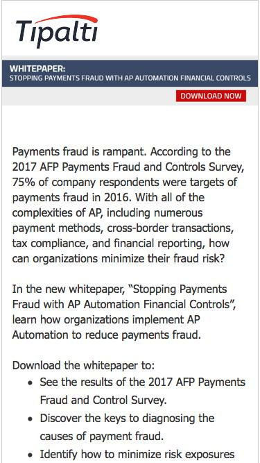 Whitepaper: Stopping Payments Fraud