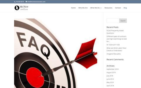 Screenshot of Blog mcnewassociates.com - Blog | McNewAssociates.com - captured Sept. 24, 2018