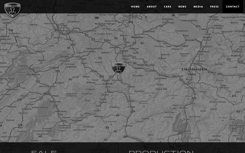 Screenshot of Contact Page zenvoautomotive.com - Zenvo Automotive - captured Oct. 31, 2014