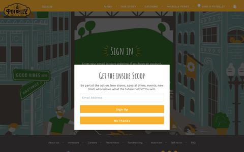 Restaurants Login Pages | Website Inspiration and Examples