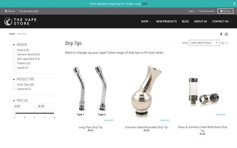 Drip Tips – The Vape Store