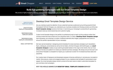 HTML Email Templates Design, Custom Email/Newsletter Template Designer