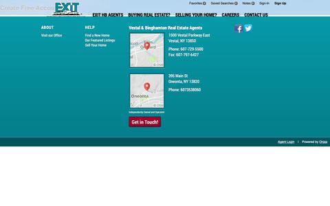 Screenshot of Signup Page Login Page exithb.com - Signup - captured Sept. 26, 2018
