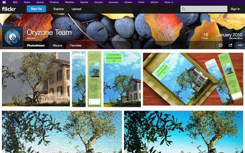 Screenshot of Flickr Page flickr.com - Flickr: oryzone's Photostream - captured Oct. 26, 2014