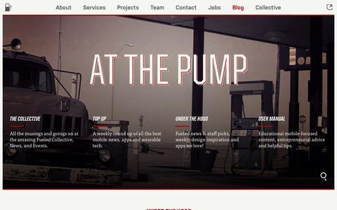 Screenshot of Blog fueled.com - Fueled Blog | Fueled - captured Aug. 4, 2016