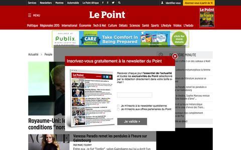 Screenshot of Team Page lepoint.fr - People - L'actualitŽ culturelle Đ Le Point - captured Dec. 2, 2015
